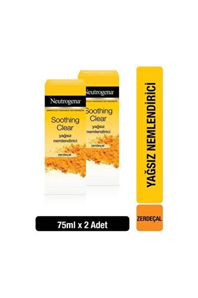Neutrogena Soothing Clear Nemlendirici 75 ml x2