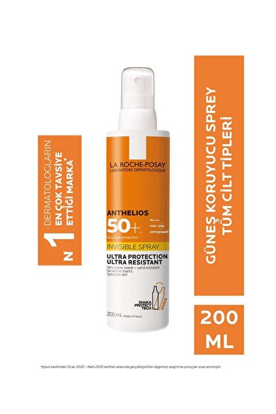 La Roche Posay Anthelios Invisible Spray Spf 50+ 200 Ml