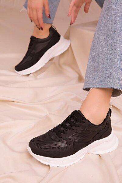 SOHO Siyah Kadın Sneaker 15564
