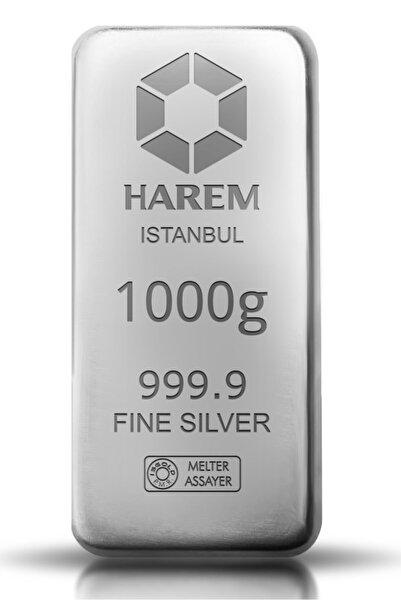 Harem Altın 1000 gram Gümüş Külçe