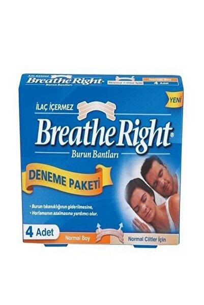 Breathe Right Burun Bandı Deneme Paketi Normal Boy 4'lü