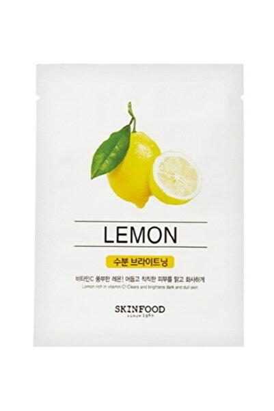 Skinfood Tek Kullanımlık Yüz Maskesi Limon 18 Ml 8809427868987