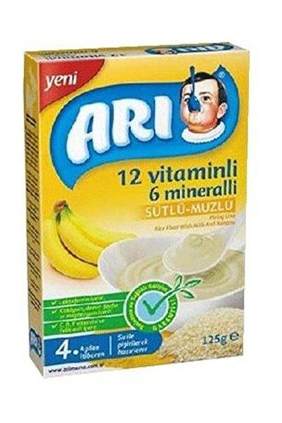 ARI 12 Vitaminli 6 Mineralli Sütlü Muzlu Pirinçli 125 G 1201419