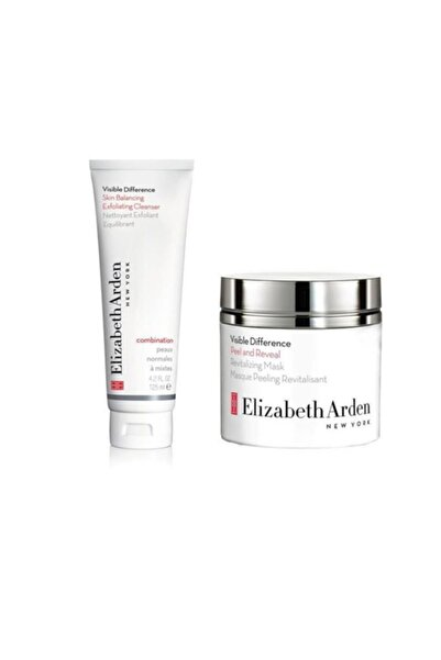 Elizabeth Arden Visible Difference Peeling Maske 50 Ml+ Cilt Temizleyici 125 Ml