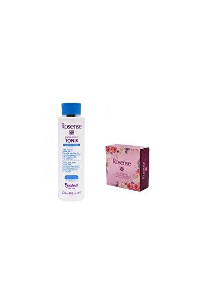 Rosense Matlaştırıcı Tonik 200 Ml + Gül Yapraklı Bakım Sabunu 2'li Set 7417941459591