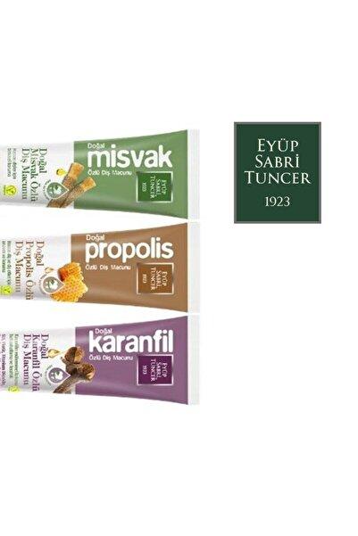 Eyüp Sabri Tuncer 3lü Diş Macunu (misvak+propolis+karanfil) 75 Ml