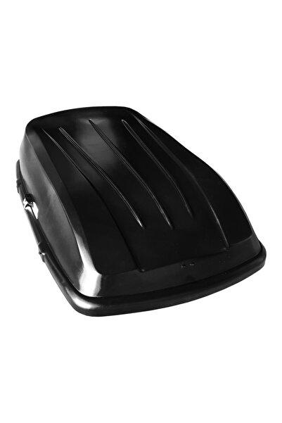 Accessorypart Portbagaj Araç Üstü Kilitli Bagaj Her Araca Uygun 400 Litre Siyah