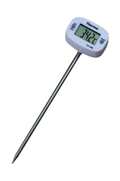 Weather Forecast Termometre Sıvı Gıda Et Su Yiyecek Sıcaklık Ölçer Mutfak Thr148