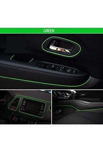 Araç Içi Ip Şerit Torpido Fitili Yeşil 5 Metre