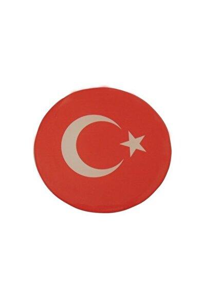 Automix Türk Bayrağı Sticker Damla Çıkartma-etiket 3d 1 Ad