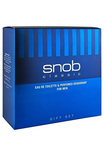 Snob Classic Erkek Parfum Seti