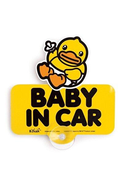 B.Duck Baby In Car Arabada Bebek Var