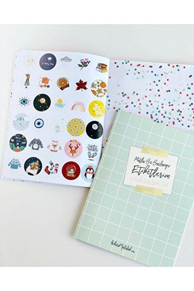 Bikutumutluluk Mutlu Bir Başlangıç Etiket Kitabı - Sticker Book
