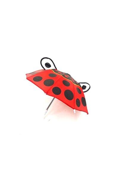 evimdeyokyok Unisex Çocuk Kırmızı Şemsiye