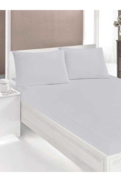 İpekçe Home Beyaz Ranforce Fitted Çarşaf Seti 160x200