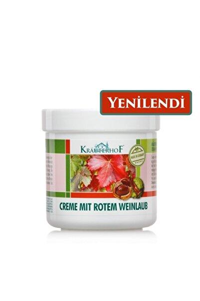 Krauterhof Kırmızı Asma Yaprağı Ve At Kestanesi Ekstreli Bacak Kremi 250 Ml