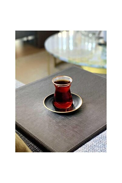 The Mia Siyah 12 Parça Çay Seti