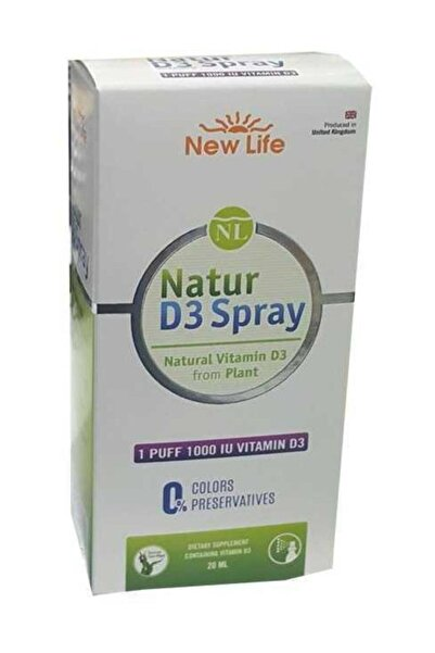 New Life Natur D3 1000 Spray 20 Ml