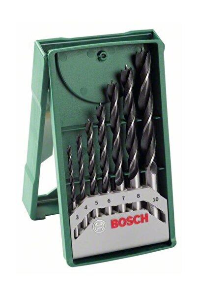 Bosch X-line 7 Parça Mini Ahşap Matkap Ucu Set
