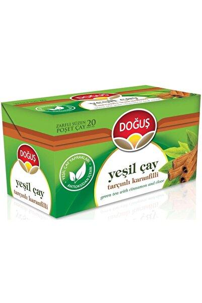 Doğuş Yeşil Çay Tarçınlı Karanfilli Bitki Çay Bardak Poşet 20'li