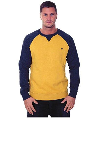 Quiksilver Erkek  Sarı Sweatshırt