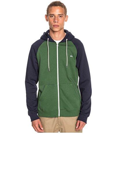 Quiksilver Erkek Yeşil Sweatshirt