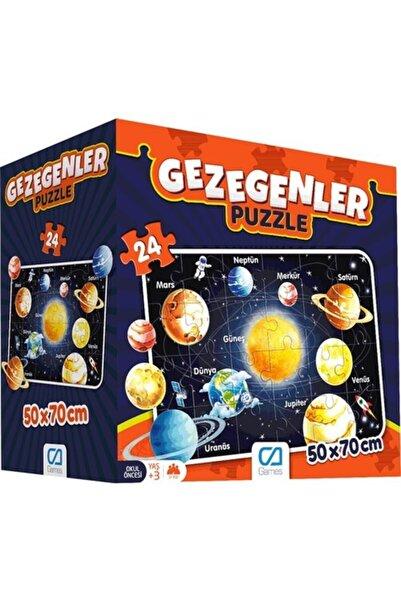 Parti Bulutu Ca Gezegenler Yer Puzzle 50x70 Cm