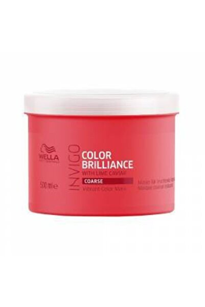Wella Invigo Color Brilliance Mask 500 Ml Pompa Hediyeli Fırsat Ürünü