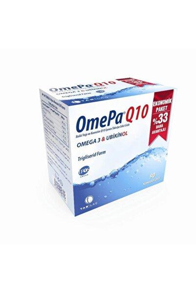 Tab İlaç Omepa Q10 Omega3 Ubiquinol 90 Kapsül