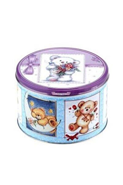 Teddy Bear Çikolatalı Kurabiye 300 Gr /metal Kutu