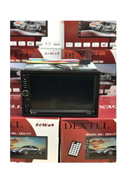 Powertec Dextel Dex-777 Car Oto Multimedia Double Teyp Enahsen087