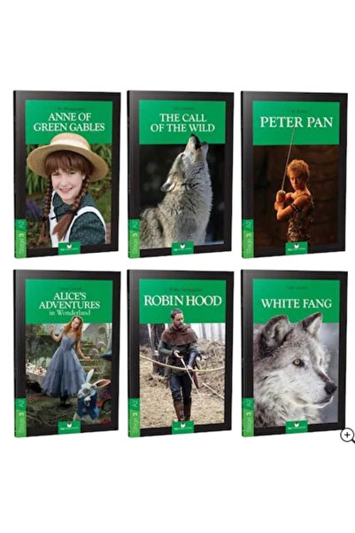 MK Publications Ingilizce Hikaye Kitabı Seti Stage 3 (6 Kitap) + Ses Dosyaları