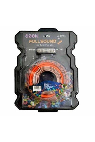 FullSound 800w G-506c Yüksek Kalite Anfi Set Kablosu