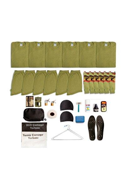 Asker Kolisi 6'lı Temel Asker Seti - Asker Malzemeleri - Bedelli Ve Acemi Asker Malzemesi