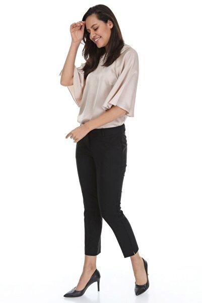Modayız Kadın Siyah Kumaş Pantolon 31e-3164