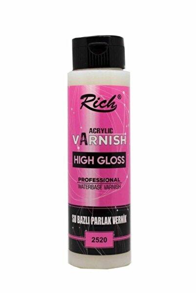 Rich Hıgh Gloss Su Bazlı Vernik Parlak 500 Cc