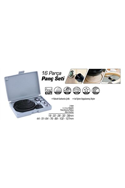 REWEL Sonax 16 Parça Panç Testere Seti 423280r