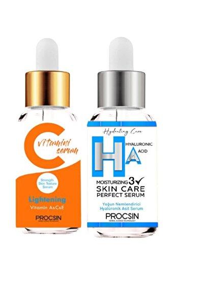 Procsin C Vitamini Serumu + Hyaluronic Kolajen Asit 22 Ml