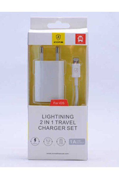 şahin iletişim Zore Gold Lightning 1000 Mah Travel Z-08