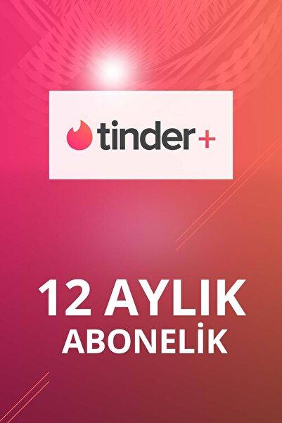 Tinder Plus 12 Aylık Abonelik