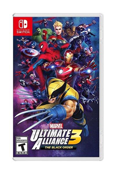 Nintendo Marvel Ultimate Alliance 3: The Black Order Switch Oyun