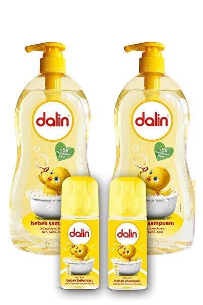 Dalin Şampuan Klasik 700 + Bebek Kolonyası Bıcı Bıcı X2 Adet