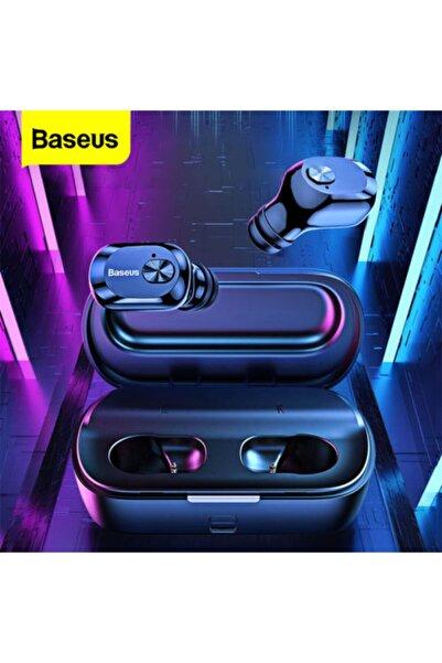 TeknoExpress Orjinal Baseus Huawei Mate 20 Lite Uyumlu Tws Bluetooth Kulaklık Hd 5.0 Şarj Kutulu