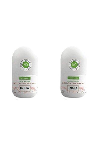 Incia Doğal Roll-on Deodorant Kadınlar Için 50 Ml X 2 Adet