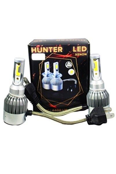Hunter H7 Led Far Led Xenon Beyaz Far Şimşek Etkili Yüksek Işık