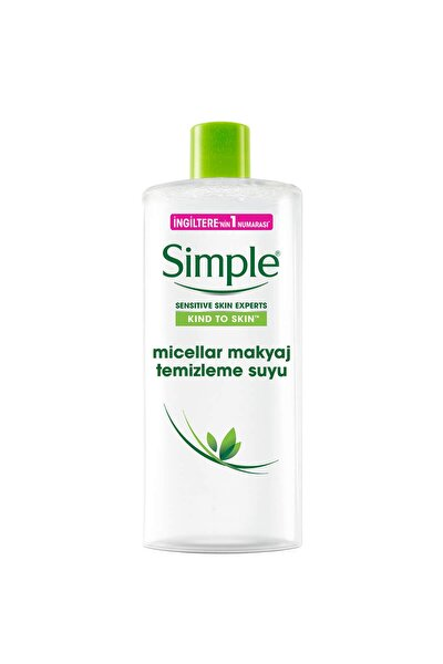 Simple Micellar Makyaj Temizleme Suyu - 400 Ml