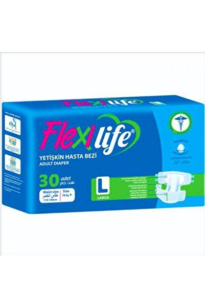 Flexi Life Hasta Alt Bezi Yetişkin Flexilife Mavi Beyaz (bağlama) (30 Adet) Large