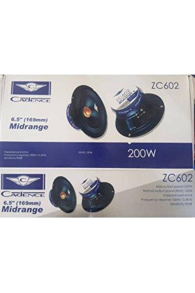Cadence Zc-602 16 Cm Midrange 200 Watt 100 Rms Yeni Seri Hoparlör