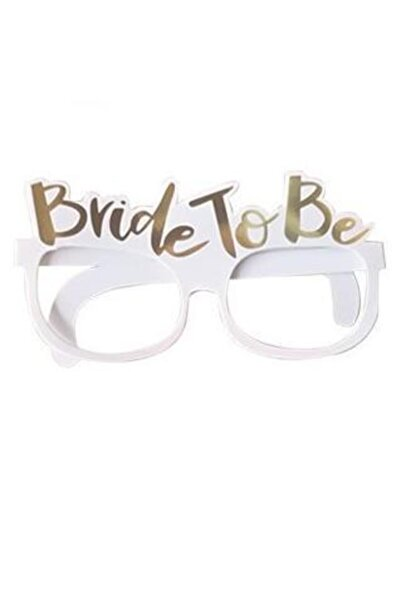Partibeta Bekarlığa Veda Partisi Bride To Be Karton Gözlük 10 Adet
