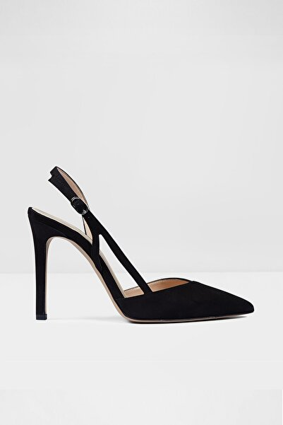 Aldo Kadın Siyah Süet Topuklu Ayakkabı